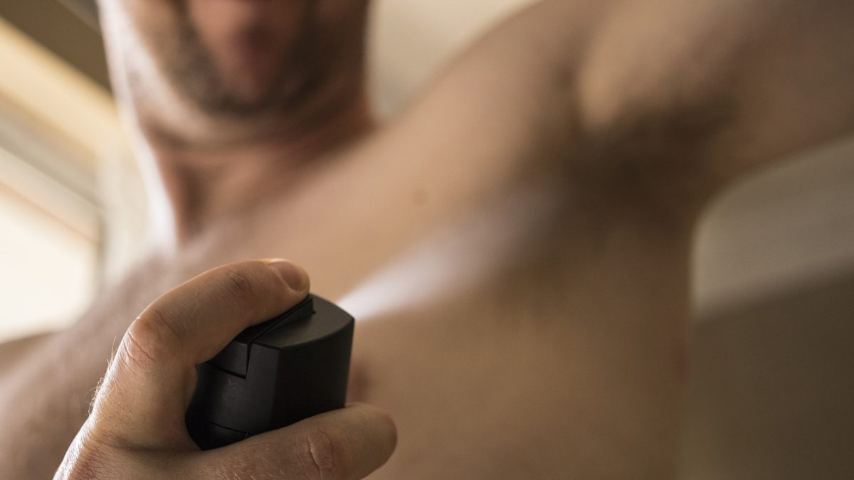 What makes the smell of sweat unpleasant and what can you do about that?